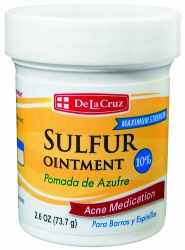 De La Cruz 10% Sulphur Medication Ointment