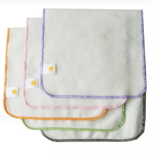Satsuma Designs Organic Flannel Burp Cloth