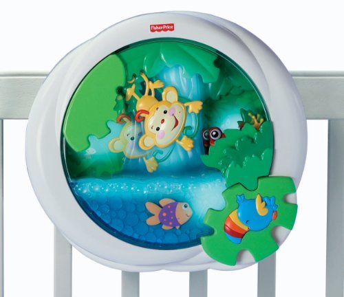 Fisher-Price Rainforest Waterfall Peek-a-Boo Soother