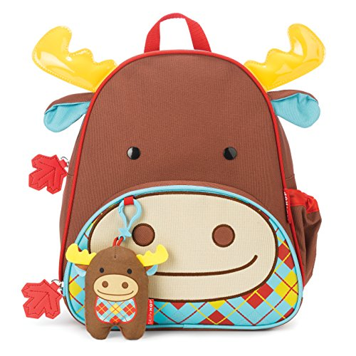 Skip Hop Zoo Winter Backpack & Plush Set
