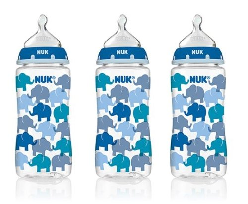 NUK Orthodontic Trendline Baby Bottles