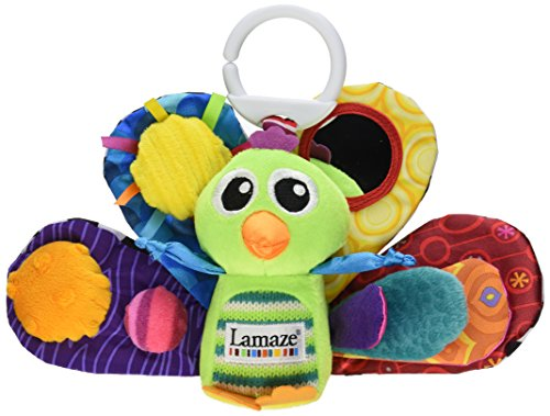 Lamaze Play & Grow Jacques the Peacock Take Along Toy