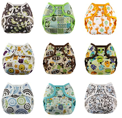 Blueberry Capri Diaper Covers