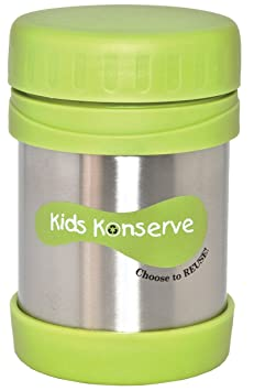 Amazon.com: Kids Konserve KK035 12- Ounce Stainless-Steel Insulated Food Jar: Kitchen & Dining