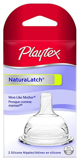Playtex Drop-Ins NaturaLatch Slow-flow Nipple