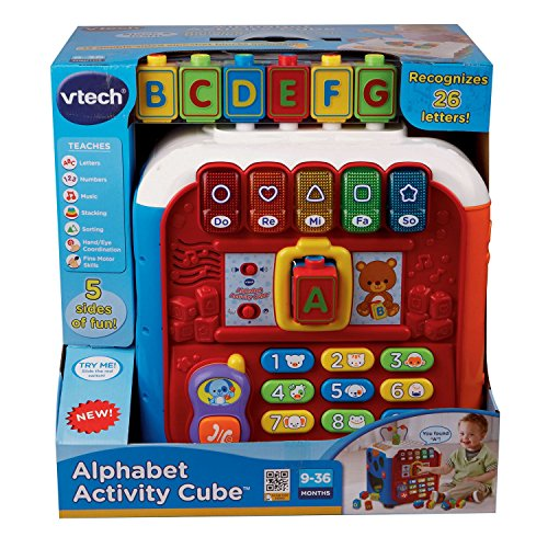 Vtech 5 Sided Activity Alphabet Musical Learning Cube