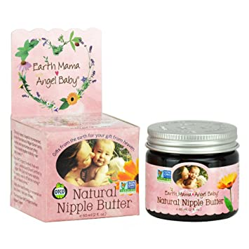 Amazon.com: Earth Mama Angel Baby Non GMO Natural Nipple Butter Lanolin Free Nursing Cream 2 Ounce: Health & Personal Care