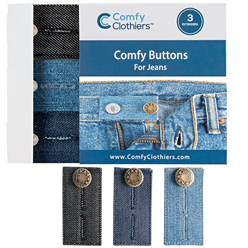Comfy Buttons Denim Waist Extenders