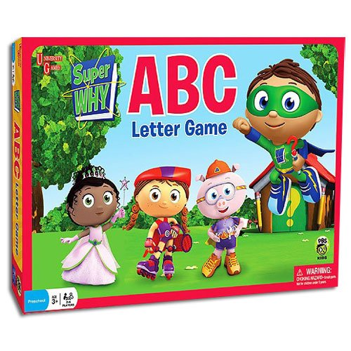 Brybelly Holdings TUNI-13 Super Why ABC Letter Game