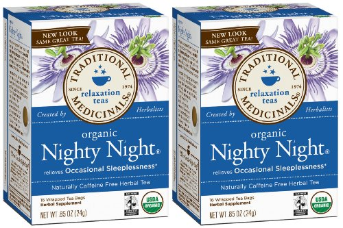 Traditional Medicinals Organic Nighty Night Herbal Tea