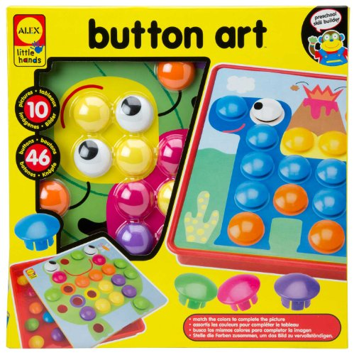 ALEX® Toys - Early Learning Button Art