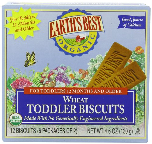 Earth's Best Organic Teething Biscuits