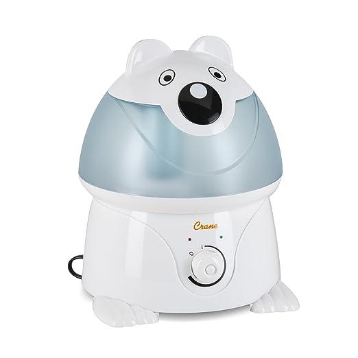 Amazon.com: Crane Adorable Ultrasonic Cool Mist Humidifier with 2.1 Gallon Output per Day - Panda: Health & Personal Care