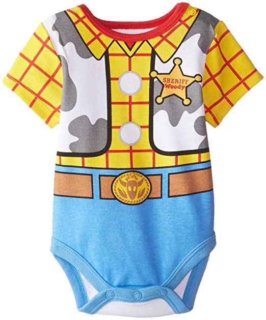 Amazon.com: Disney Baby-Boys Newborn Toy Story Woody Creeper Set, Yellow, 9 Months: Baby