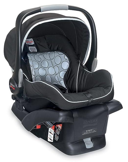 Amazon.com : Britax B-Safe Infant Car Seat, Black : Rear Facing Child Safety Car Seats : Baby