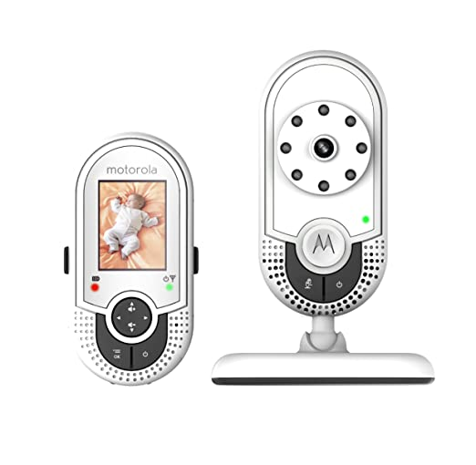 Amazon.com : Motorola MBP421 Video Baby Monitor with 1.8-Inch Color LCD Screen and Infrared Night Vision (Discontinued by Manufacturer) : Baby