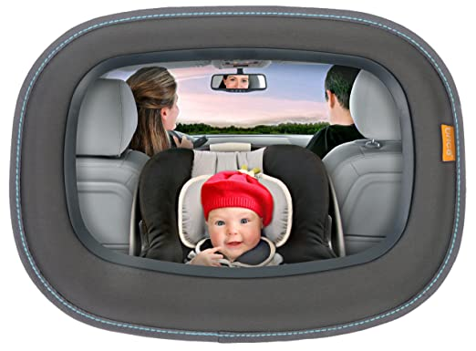 Amazon.com : BRICA Baby In-Sight Auto Mirror for in Car Safety : Rear Facing Baby View Mirrors : Baby